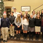 Interact Club Caroling 12