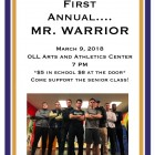 Mr. Warrior 2018 2