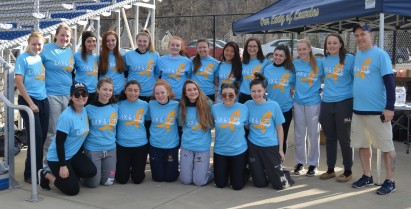 Lourdes Girls Varsity Lacrosse Team