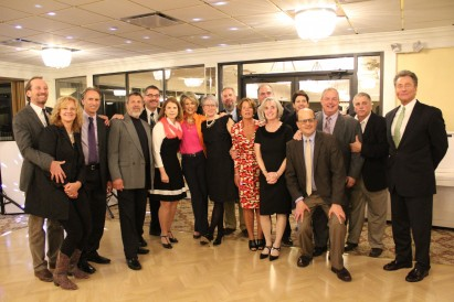 Greta and her classmates from the Class of 1975 who attended the Lourdean Dinner in 2017 when Gre...